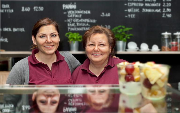 Die beiden Inhaber der Salatbar Kirchheim