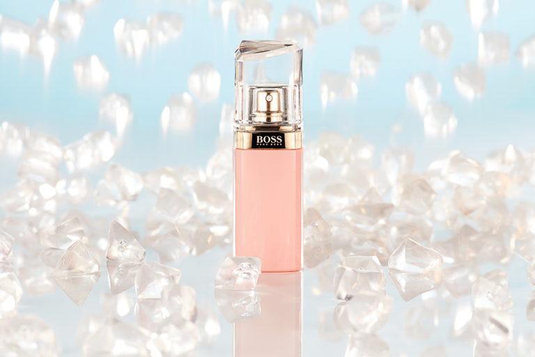 Werbeaufnahme Parfum Hugo Boss