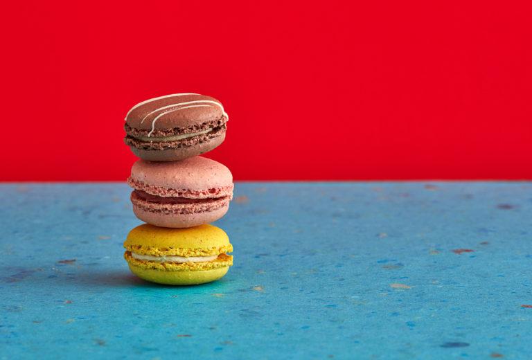 Macarons Foodfotografie Mood bunt