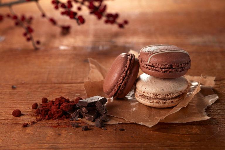 Macarons Foodfotografie Schokolade Mood