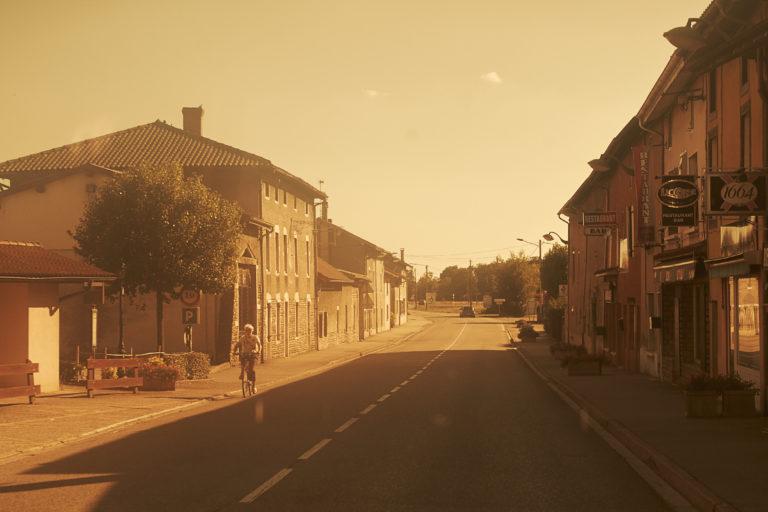 Urlaubsfoto Frankreich Stadtleben
