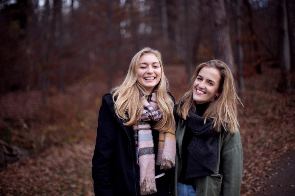 Portrait Freunde zu zweit