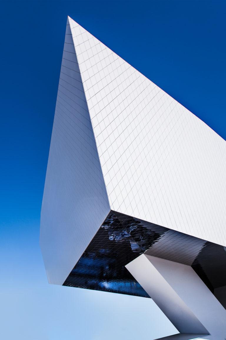 Architekturfotografie Porschemuseum Architektur